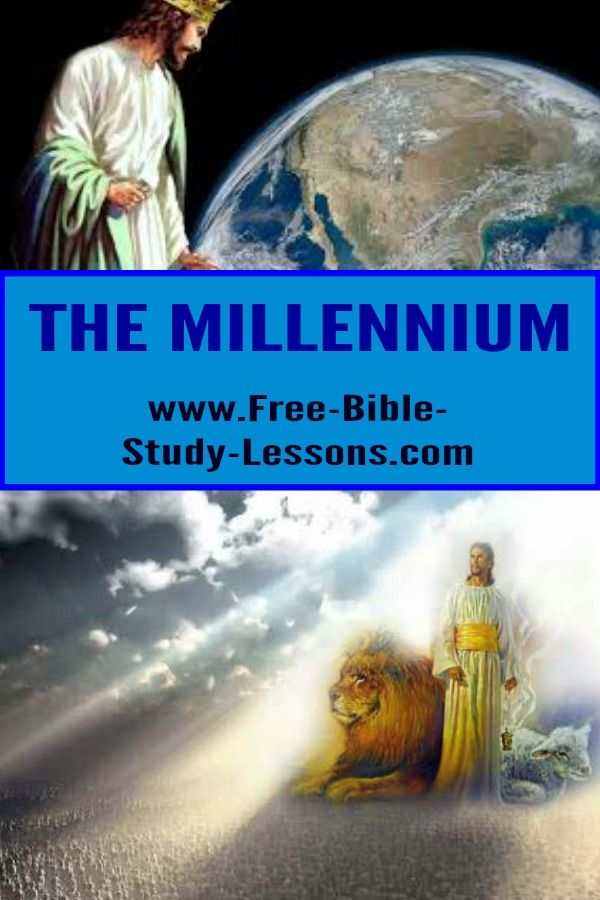 The millennium, in which Christ reigns for a 1,000 years, is only mentioned once in Scripture yet it divides the various end times teachings.  #millennium #endtimes #bibleprophecy #bibleteaching