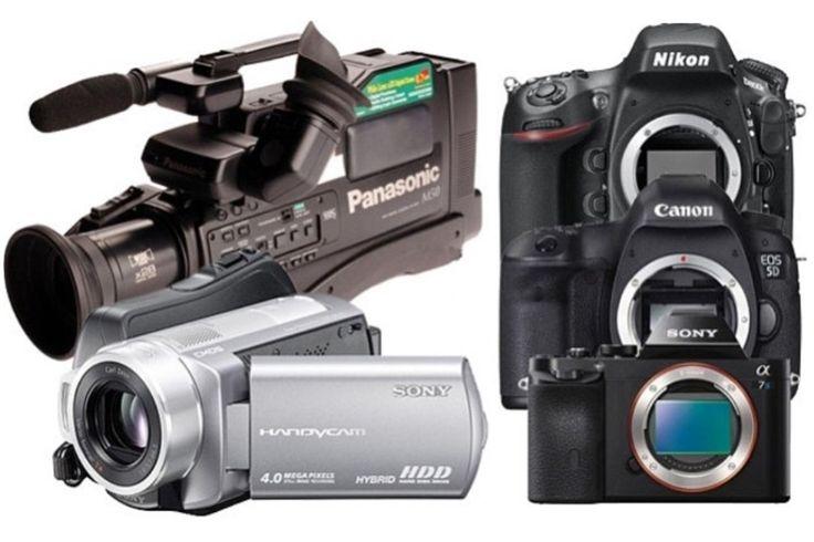 Video Kameralar Dslr Fotoğraf Makinelerine Karşı...
