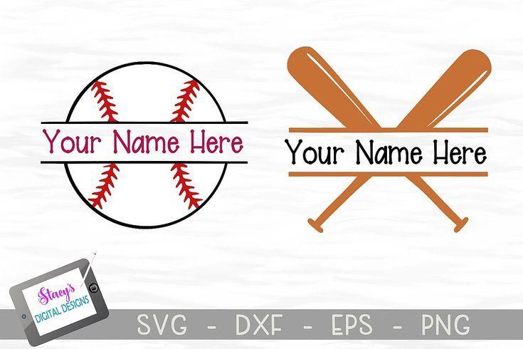 Download Baseball Split Monogram Svg Files Bats And Ball 238415 Monograms Design Bundles Monogram Svg Svg Baseball Svg