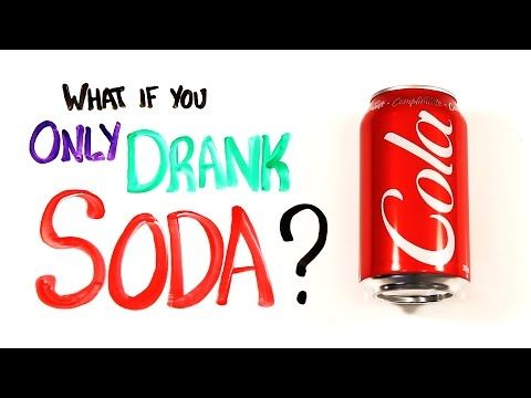 The science behind the negative effects of SODA and DIET SODA. Note: This is not real food.