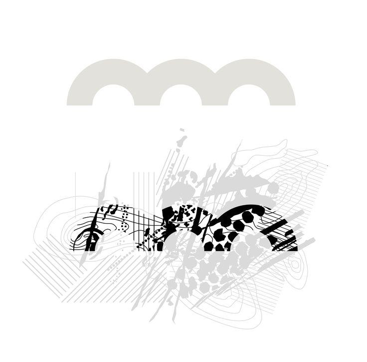 """LOGOPROCES / De tre buer i det gamle logo refererer til Odsherredbuerne og samtidig rummer formen de 4 """"ben"""" som fortællingen om Geoparken hviler på: landskabet, kulturhistorien, kunsten og råvarerne. Formen er stram, stærk og let genkendelig og er derfor bibeholdt i det nye logo. Men de ensfarvede flader er erstattet af et landskab, hvor mennesker, dyr, hav og istider har sat spor."""