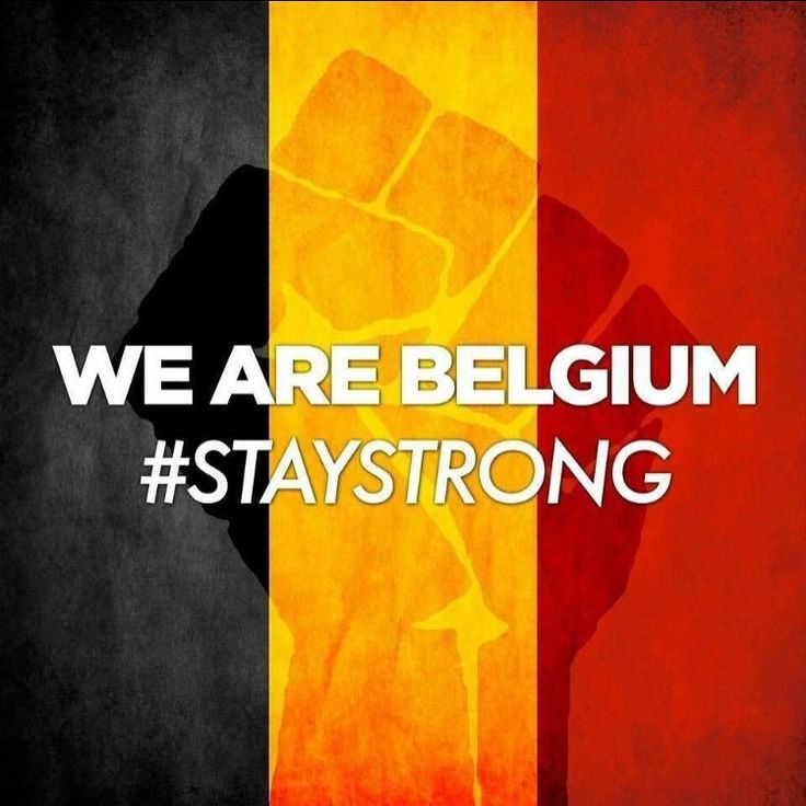 My thoughts and prayers to the people of Belgium ❤️