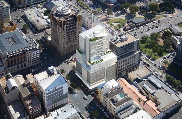 Another picture of the Bree Street Development in Cape Town