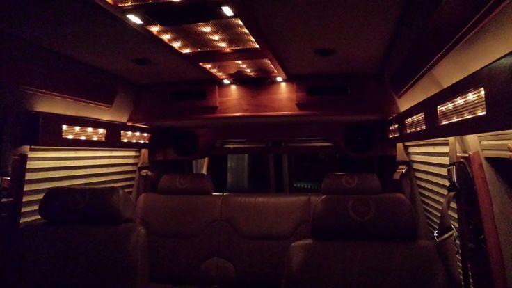 My Chevyvan Tiara 20 Globemaster 1995 Interior