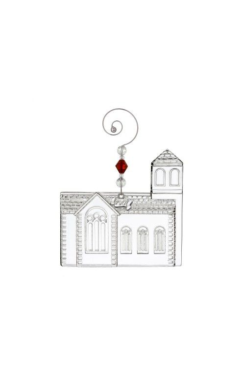 Waterford Dimensional Church Ornament at Waterford Wedgwood Royal Doulton, Tanger Outlets, San Marcos, TX or call 1-800-203-4540 or 512-396-4025.  We ship.