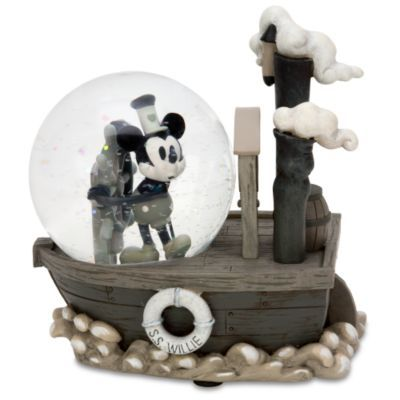 Disney Snowglobes Collectors Guide: Steamboat Willie Snowglobe