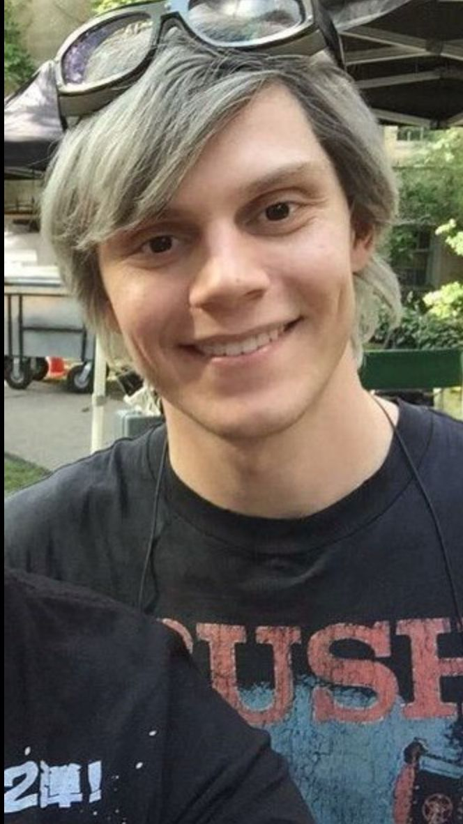 Evan Peters aka Peter Maximoff // Quicksilver