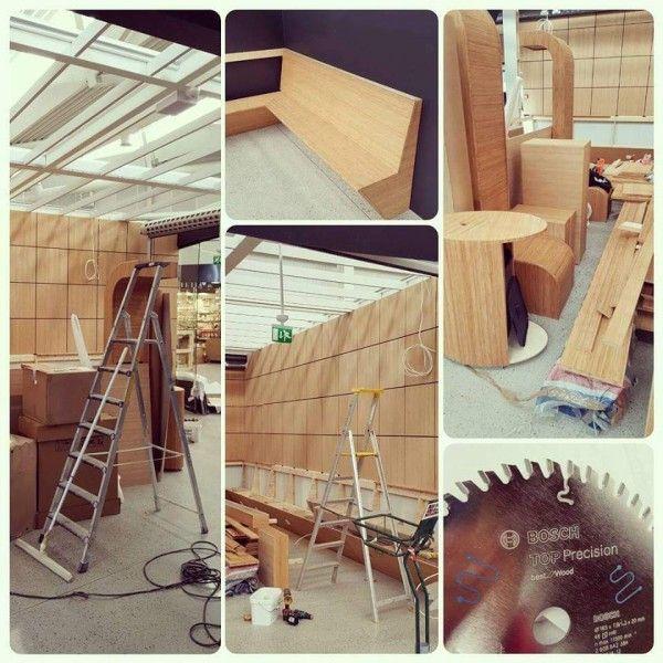 En ny Sabi Sushi under bygging, utført av Prosjektbygg Karmøy | Hardstuff