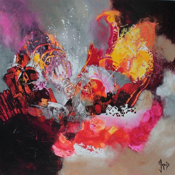 Peinture abstraite art abstrait bricolage pinterest for Artiste art abstrait