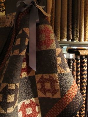 Churn Dash quilt from Country Sampler Quilt Shop - Spring Green, WI