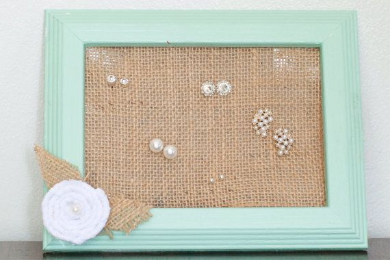 Hey, I found this really awesome Etsy listing at https://www.etsy.com/listing/188586394/burlap-stud-earring-organizer-rustic