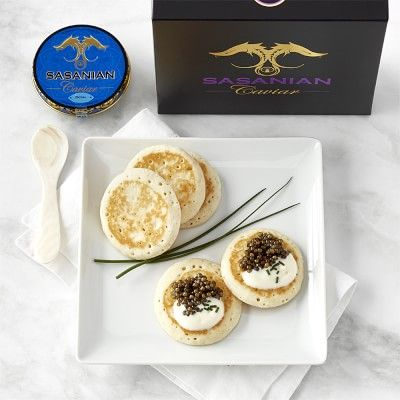 Sasanian Royal Osetra Caviar with Spoon