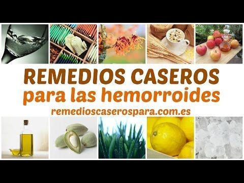 Remedios caseros para las hemorroides - YouTube
