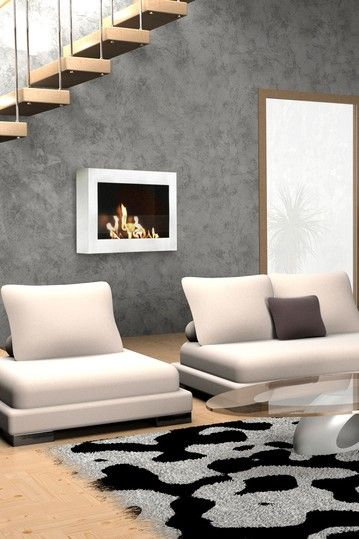 30 Best Images About Wall Mount Fireplaces On Pinterest
