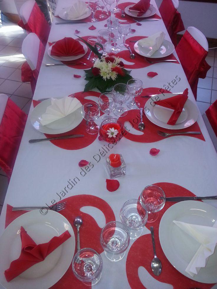 17 meilleures id es propos de mariage rouge noir sur pinterest d corations de mariage. Black Bedroom Furniture Sets. Home Design Ideas