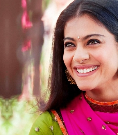 Kajol- what a winning smile! Genuine too!