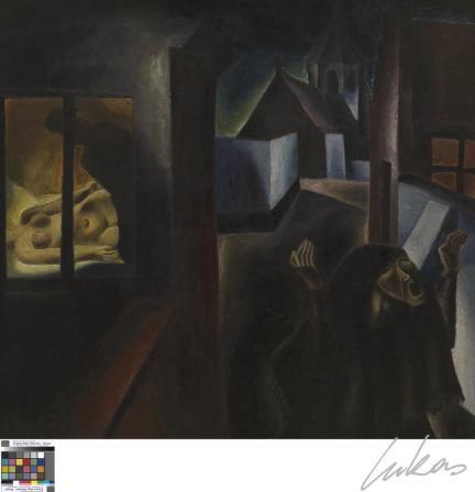 Frits van den Berghe, Het leven, 1924.