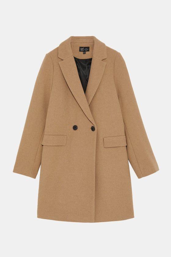 abrigo masculino marrón zara
