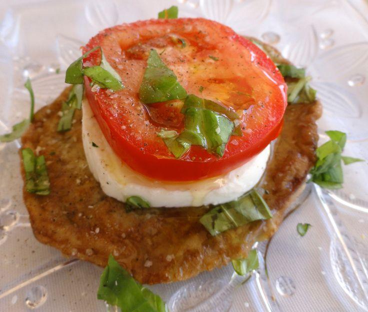 """Eggplant, Mozzarella and Tomato """"Ciao Tesoro"""" Rita Romano www.amazon.com"""