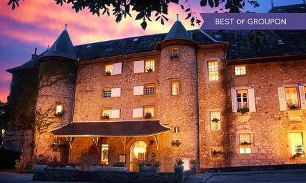 Savoie : 1 à 3 nuits avec dégustation de vin, bouteille de champagne en option, au Château des Comtes de Challes pour 2