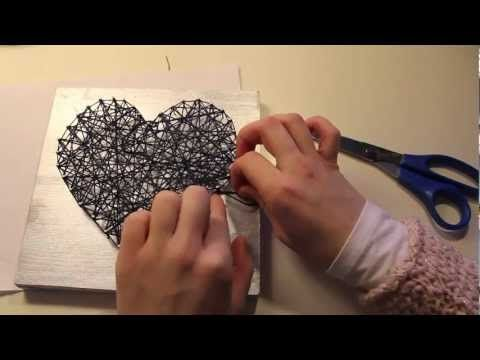 String Art String art is a prime example of something that is easy to do, very cheap to make and looks great. The way to go about it is get...
