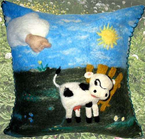 """Бодливой корове Бог рог не дал"" / ""God gives no horns to ill-tempered cow"""