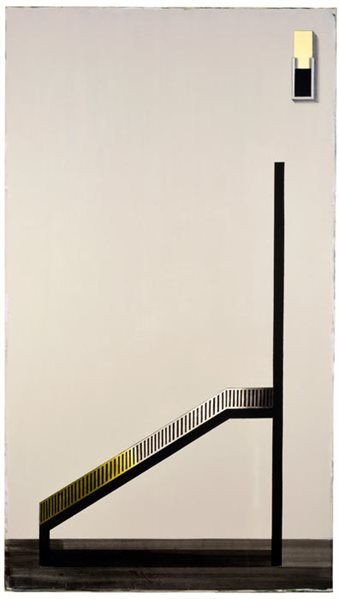 'Squint (19)' by Michael Simpson, first prizewinner of the John Moores Painting…