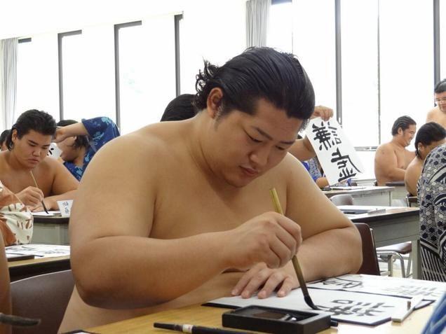 Entramos en la escuela de sumo de Tokio