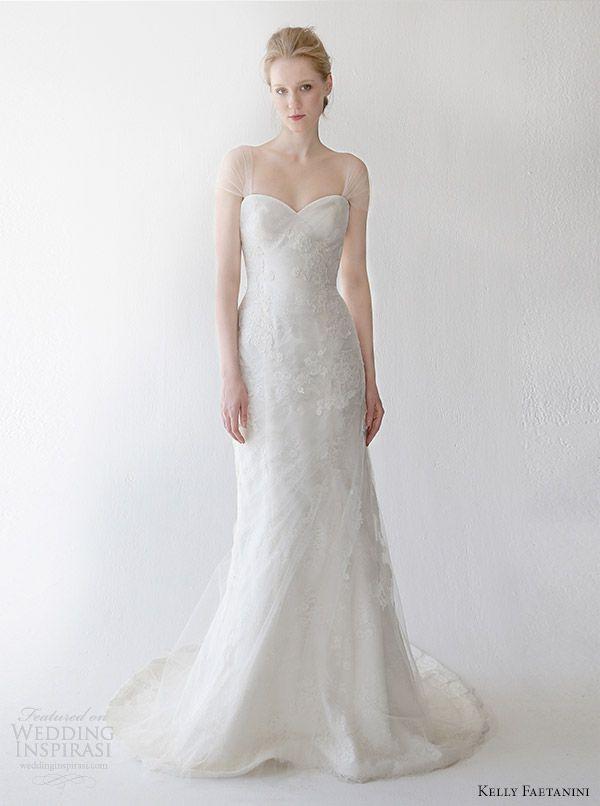 http://weddinginspirasi.com/2014/05/07/kelly-faetanini-spring-2015-wedding-dresses/ kelly faetanini spring 2015 #wedding dress talise #weddings #weddingdress #bridal