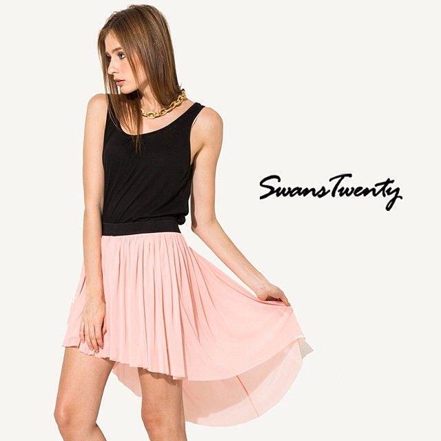 A-Symetric Skirt #swanstwenty #swanstwentysignature www.swanstwenty.com