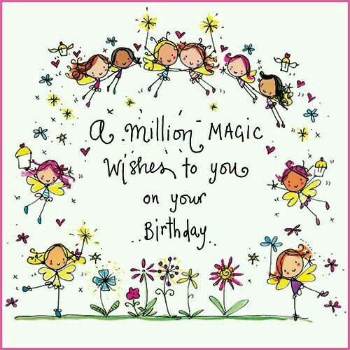 20 Birthday Wishes For A Friend Pin And Share: A Million Magic Wishes To You On Your Birthday