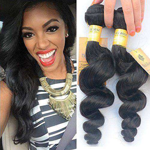 "Black Rose Hair 7a 100% Unprocessed Peruvian Virgin Hair Loose Wave 8 to 30 Inch Hot Sell Peruvian Virgin Hair Curly Wave Human Hair Extensions 50g/pc 1 Bundle 18 Inch. Black Rose Hair - ""The Best Product With The Most Competitive Price!"". 100% Virgin Brazilian Human Hair , 100% Peruvian Remy Human Hair. Soft no tangle and no shedding/Can be dyed, curled, straightened or styled at what you want. Virgin Human Hair 7A Grade. Machine Double Weft. Full and soft."