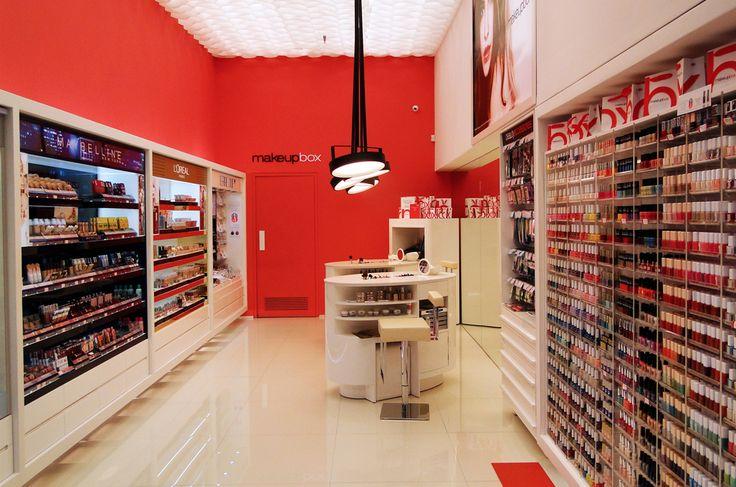 Make Up Box | Cosmetics store design | Med. Cosmos | Thessaloniki | iidsk  |  Interior Design & Construction