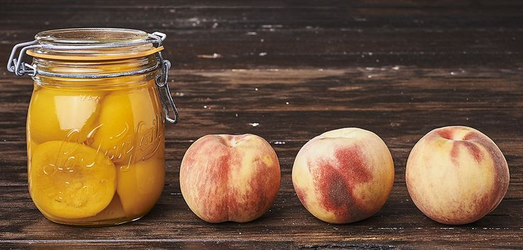 411 best confitures gelees images on pinterest marmalade chutney and jelly - Peches au sirop sans sterilisation ...