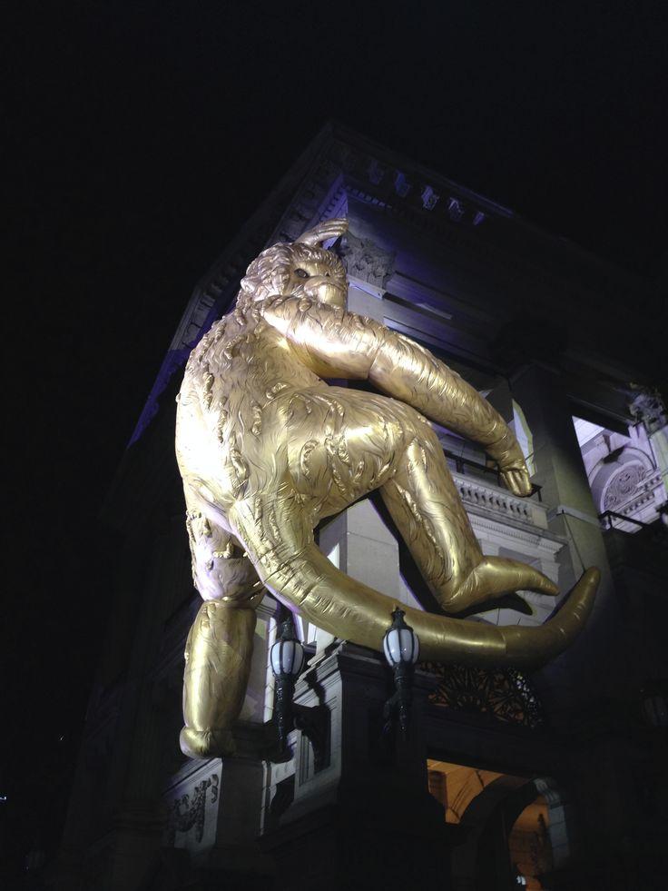 Lisa Roet - Golden Monkey. White Night 2016.