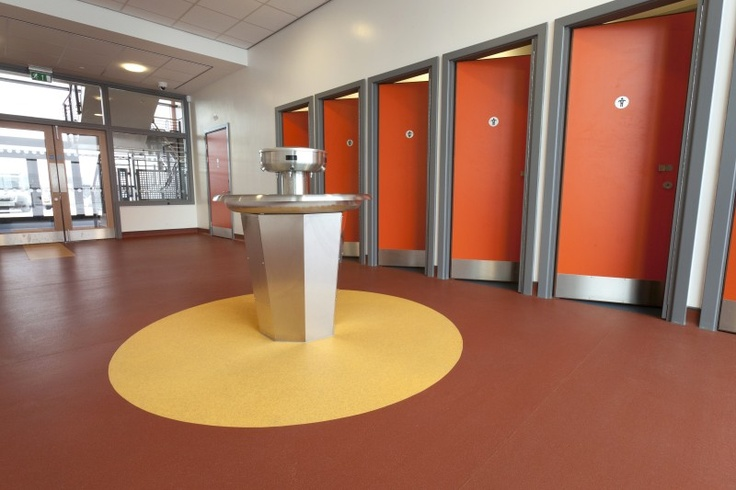 Another example of incorporating Altro safety flooring into the design at Bolsover School.