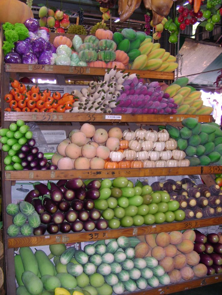 Chochuk Market- Fruit on display