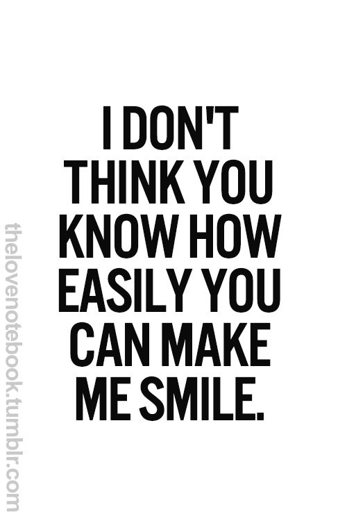 New Relationship Love Quotes: Best 25+ Make Me Smile Ideas On Pinterest