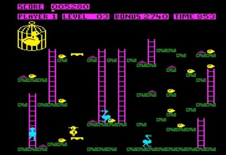 13-chuckie-egg #retro games