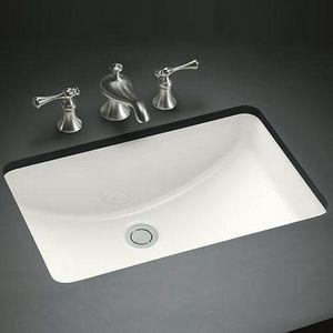 Kohler Ladena® 20-7/8 x 14-3/8 x 8-1/8 in. Undermount Bathroom Sink | 2214-0 | at Ferguson.com