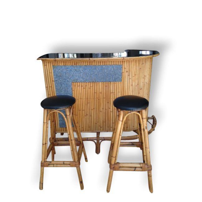 Les 25 meilleures id es de la cat gorie tabourets rotin bar sur pinterest - Tabouret de bar en osier ...