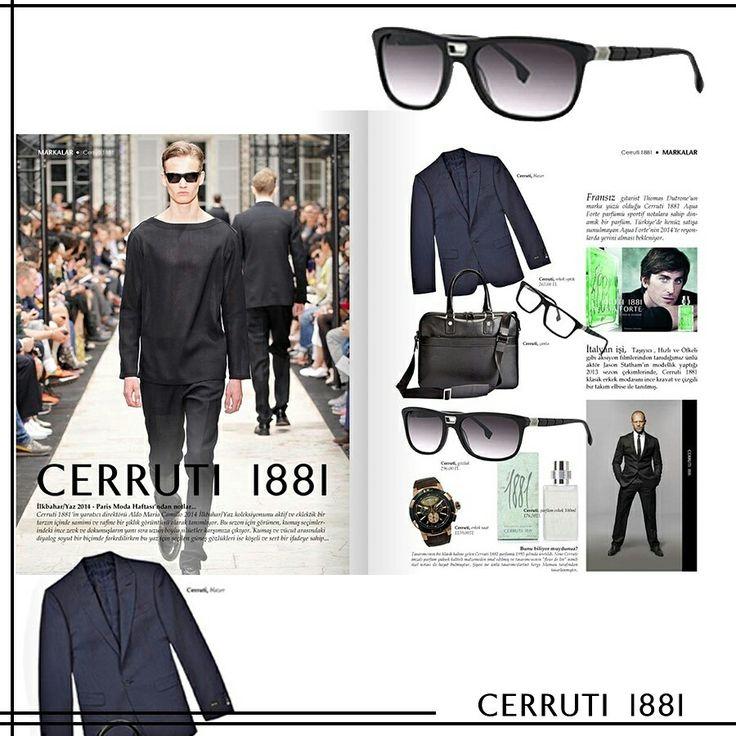 Cerruti Eyewear, sadelik ve lüksü bir arada sunuyor 🤓😎 Cerruti presents purity and luxury together 😎🤓 #cerruti1881 #eyewear #italyfaahion #sunday