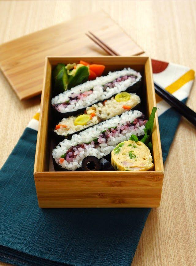 R journal: おにぎらず弁当┃Japanese rice ball bento