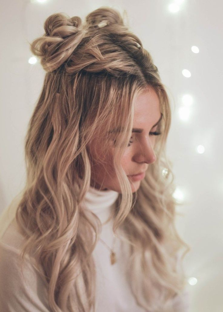 Cute Hairstyles On Pinterest Shoulder Length New Site Hair Tutorial Half Braided Hairstyles Hair Styles