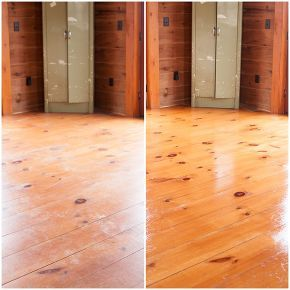 how to get hardwood floors to shine