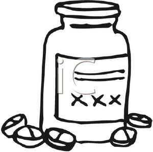 coloring pages medicine bottle - photo#17