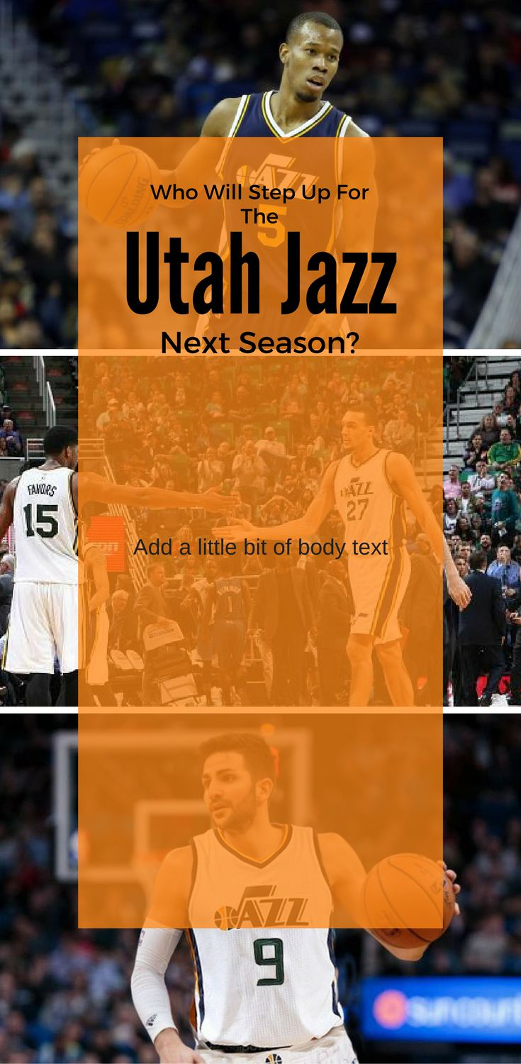 Which player will step up for the Utah Jazz in the 2018 NBA season?