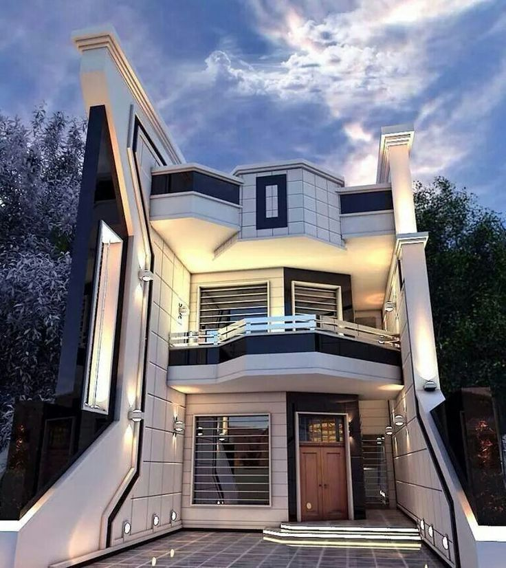 Exterior Small Home Design Ideas: Houses Will Look Like In The Future