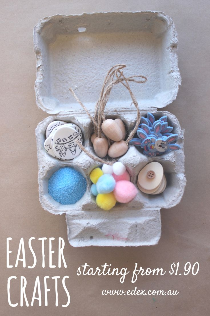 Encourage your kids to get creative this Easter with a selection of Easter themed art and craft resources that will allow them to create their own designs or a finished product. Children will be in art and craft heaven with the diverse range of ceramic, wood, card, felt and colourful accessories.