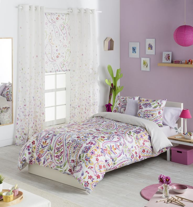 M s de 1000 ideas sobre cortinas juveniles en pinterest - Decorar habitacion juvenil nina ...